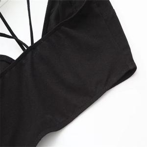 Woman Hang Neck Condole Belt Bra Undergarment -