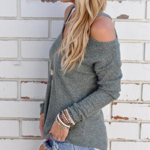 Off Shoulder Sexy Sweater -