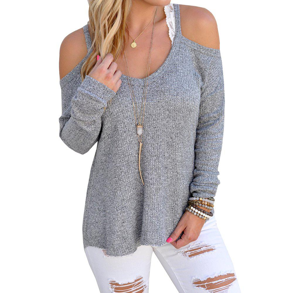 Discount Off Shoulder Sexy Sweater