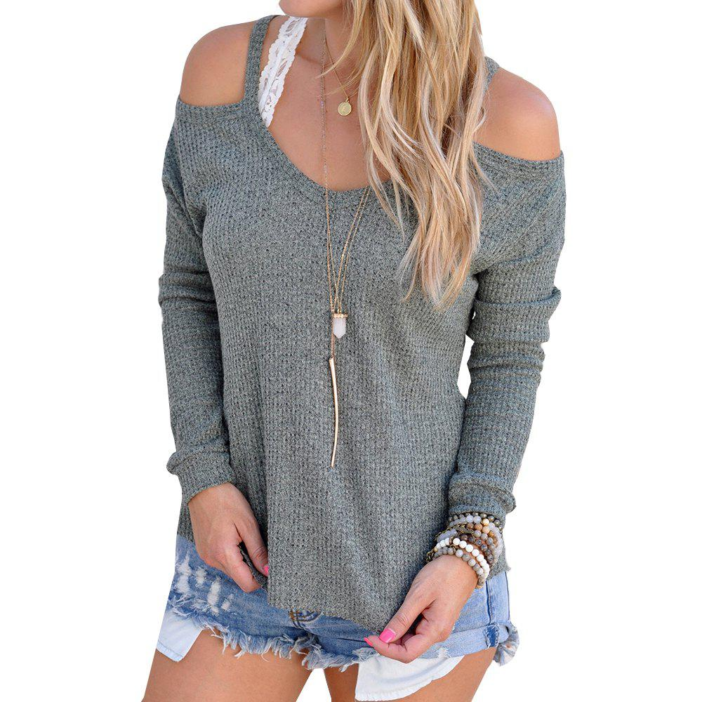 Affordable Off Shoulder Sexy Sweater