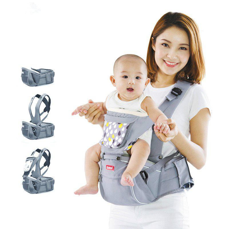 Shops SUNVENO Designer Baby Carrier Infant Toddler Front Facing Carrier Sling Kids Kangaroo Hipseat Baby Care 0-36Months