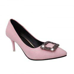 Metal Pin Simple with High Heel Shoes -
