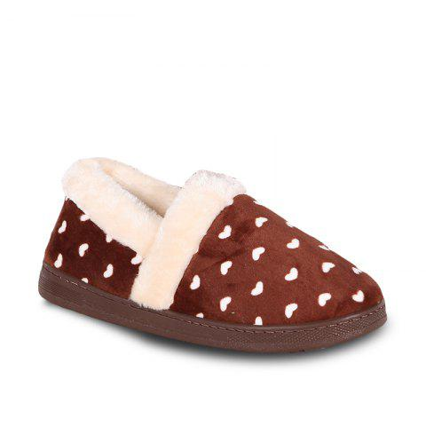 Store Autumn and Winter Indoor Warm Cotton Slippers
