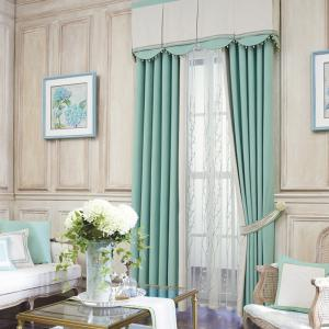 Modern Solid Color Cotton Linen Blackout Curtains for Living Room Window Curtains for The Bedroom Curtains -