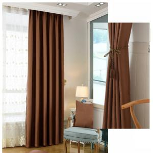 Thickened shading curtain Insulated finished curtain -