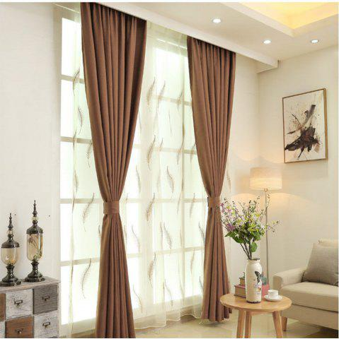 Unique Thickened shading curtain Insulated finished curtain
