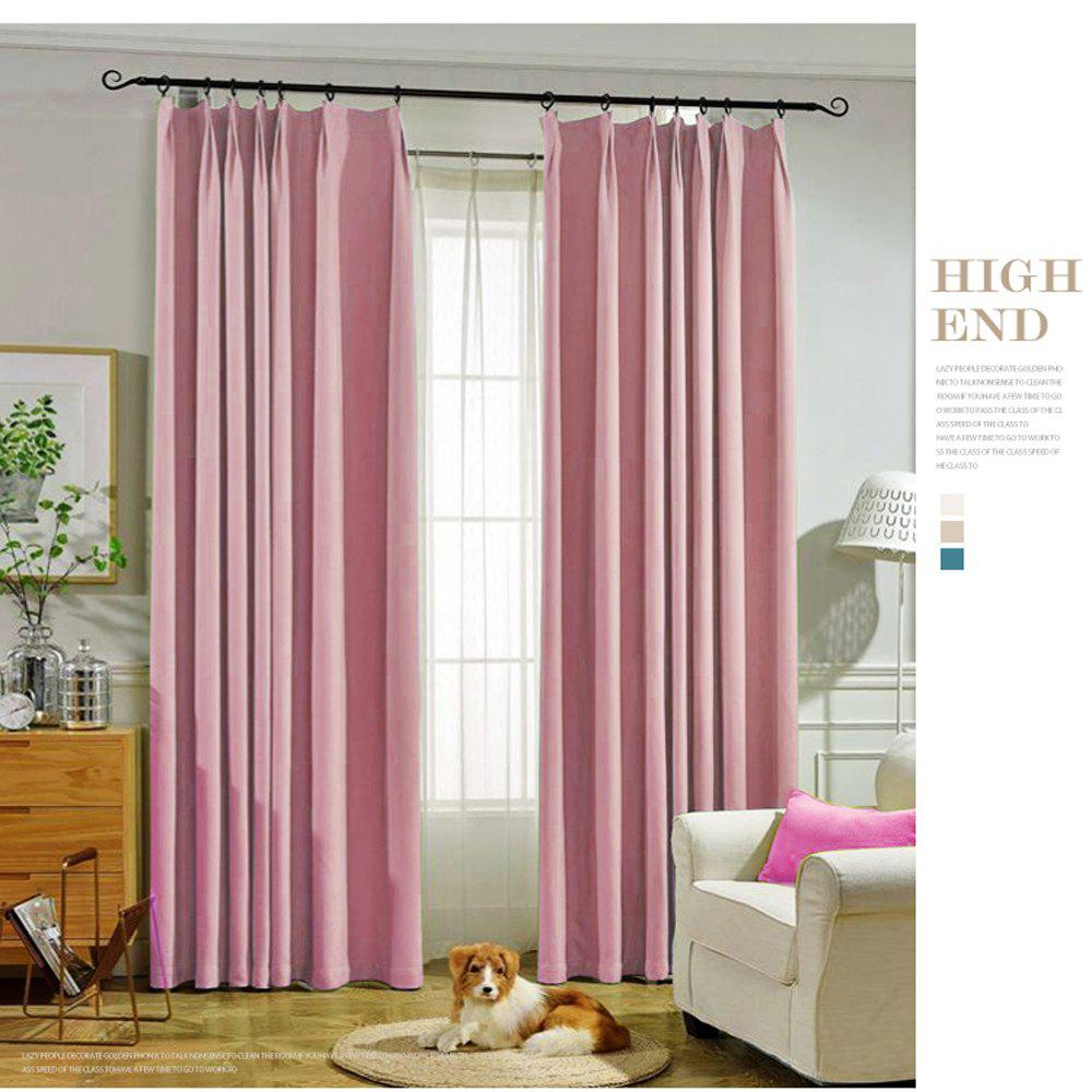 Online Thickened shading curtain Insulated finished curtain