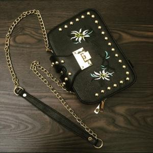 Female Tide Version Unique Individuality Atmosphere Style Crossbody Bag -