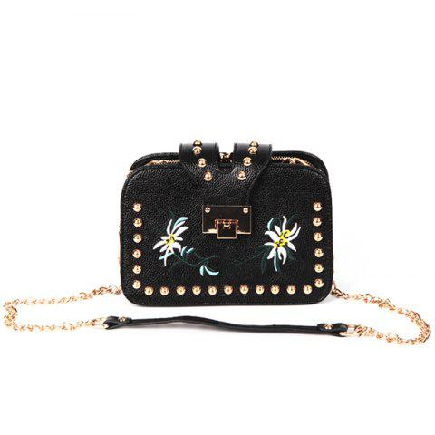 Hot Female Tide Version Unique Individuality Atmosphere Style Crossbody Bag