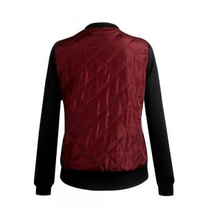 Autumn Winter Fashion Zipper Quilted Individuality Small Coat Jacket -