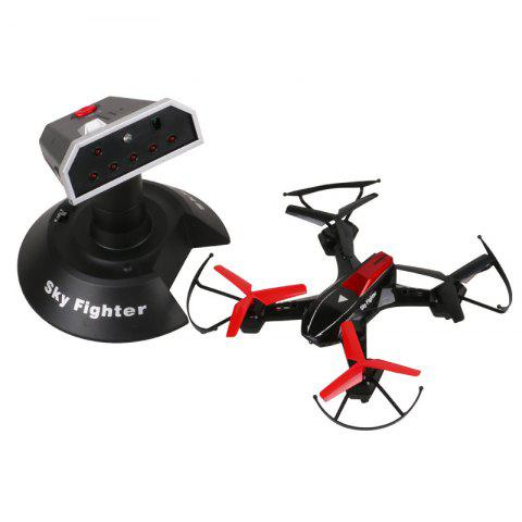 Hot YD - 822S Mini RC Drone 2.4G 4CH 6 - Axis RTF Quadcopter Battle with 3D Flip Function and Led Lights