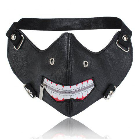 Store Dustproof and Anti Fogging Locomotive Zipper Mask