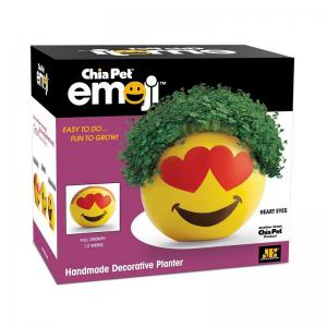 Chia Emoji Handmade Decorative Planter -