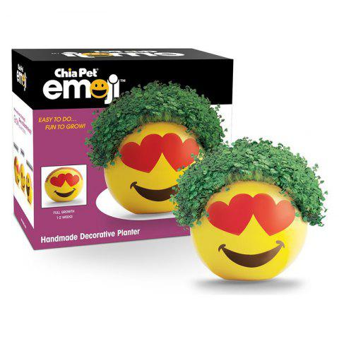 Shop Chia Emoji Handmade Decorative Planter