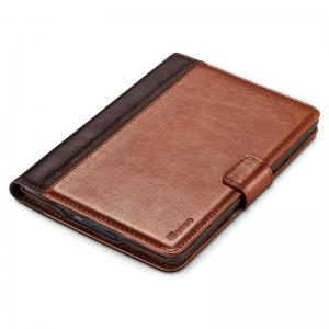 Benuo for Kindle Paperwhite Case Classic Vintage Genuine Leather Case 2 Card Slots Protective Flip Folio Cover -
