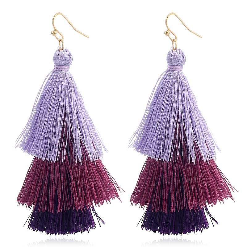 Affordable Bohemian National Style Earrings