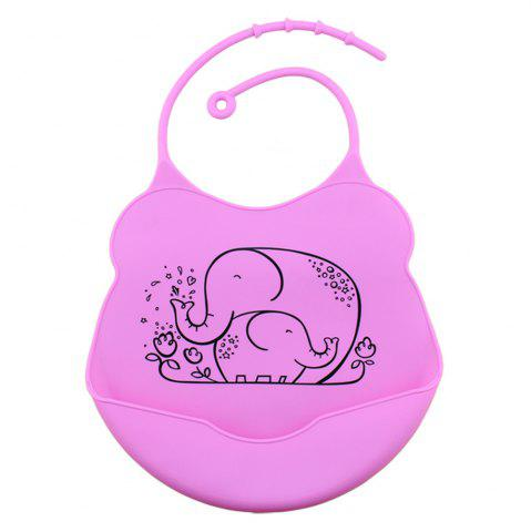 Cheap Waterproof Food Grade Silicone Baby Toddler Bib Comfortable Easy Cleaning Feeding Bibv
