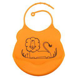Waterproof Food Grade Silicone Baby Toddler Bib Comfortable Easy Cleaning Feeding Bibv -