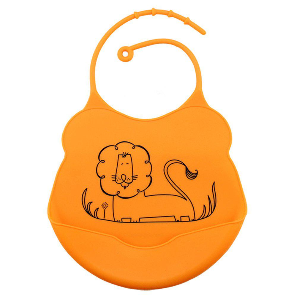 Outfits Waterproof Food Grade Silicone Baby Toddler Bib Comfortable Easy Cleaning Feeding Bibv