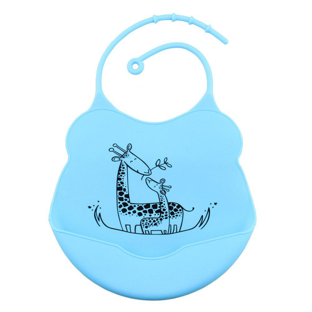 Discount Waterproof Food Grade Silicone Baby Toddler Bib Comfortable Easy Cleaning Feeding Bibv