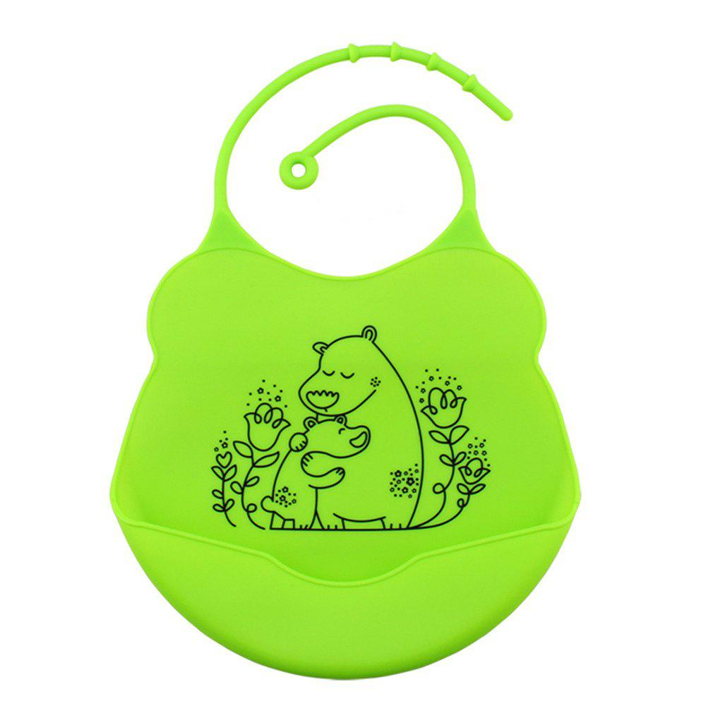Outfit Waterproof Food Grade Silicone Baby Toddler Bib Comfortable Easy Cleaning Feeding Bibv