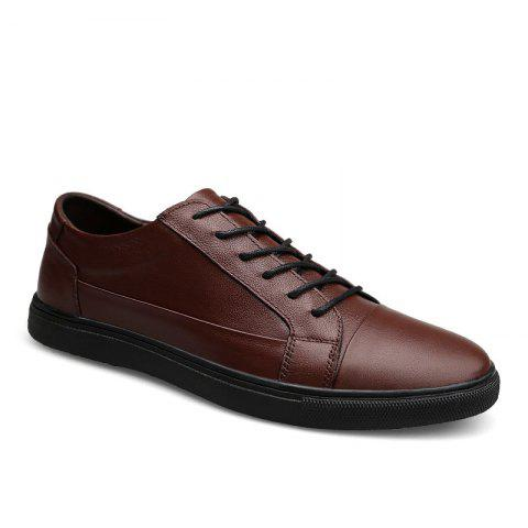 Cheap Four Seasons Head Layer of Cowhide Men'S Casual Shoes