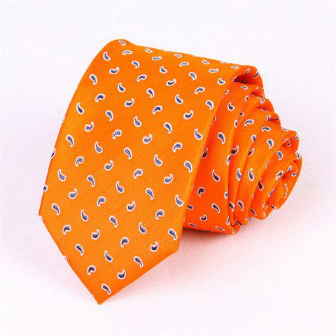 Affordable Real Silk Man Jacinth Mulberry Silk Necktie