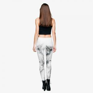 High Quality Wolf 3D Printing Casual Pants Womens Leggings Yoga Pants -