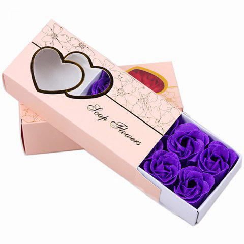 Fancy 10 Pcs Soap Flowers Sweet Romantic Artificial Roses Box Packing Valentine's Day Gift