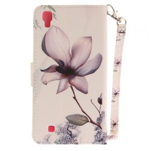 Cover Case for LG Xpower Magnolia PU+TPU Leather with Stand and Card Slots Magnetic Closure -