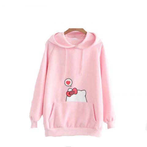 Discount New Embroidery Thin Cashmere Hoodie