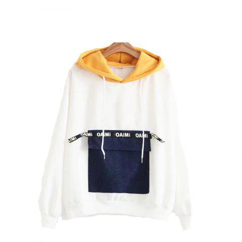 Outfit New Jeans Pocket Stitching Hoodie