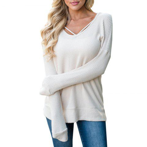 Cheap Hooded Casual Knit Sweater