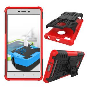Cover Case for Redmi 3S / 3Pro Shock Proof And Antiskid TPU + PC Material Cool Tattoos Stents -