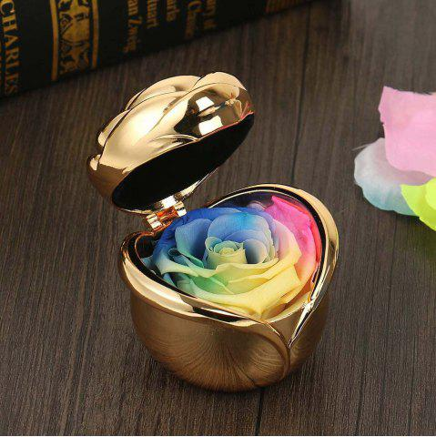 Chic Valentine's Day Handmade Preserved Flower Rose Immortal Flowers Gifts