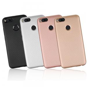 Soft Carbon Fiber Phone Case for Xiaomi 5X -