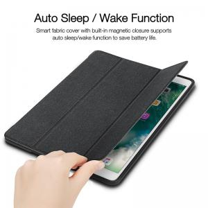 iVAPO for iPad Pro 10.5 Case PU Leather Slim Smart Cover With Pencil Holder Auto Sleep/Wake Function -