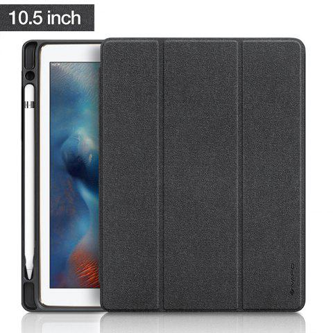 Fancy iVAPO for iPad Pro 10.5 Case PU Leather Slim Smart Cover With Pencil Holder Auto Sleep/Wake Function
