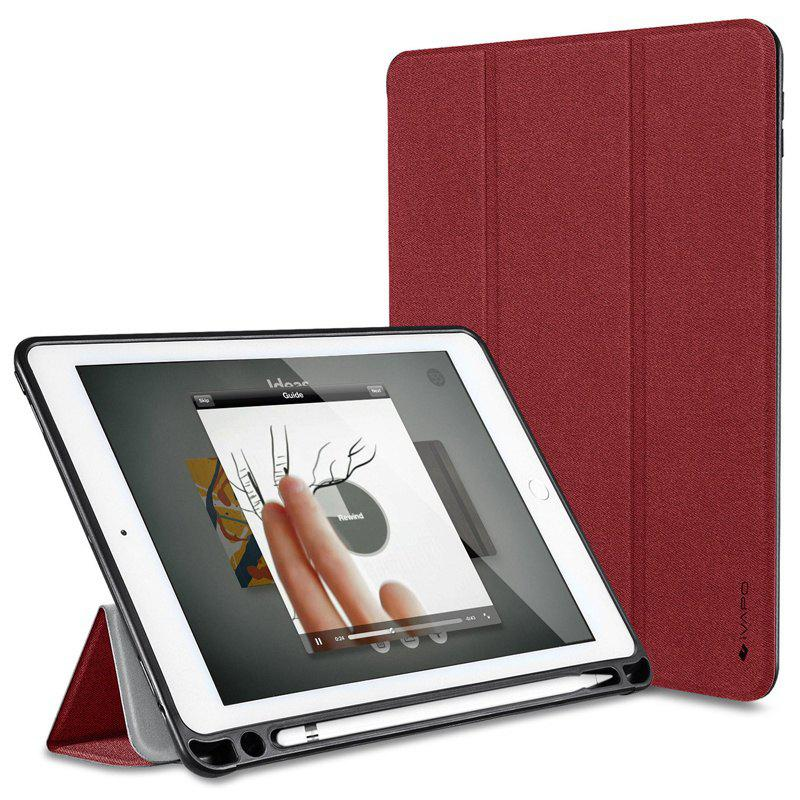 Shop iVAPO for iPad Pro 10.5 Case PU Leather Slim Smart Cover With Pencil Holder Auto Sleep/Wake Function
