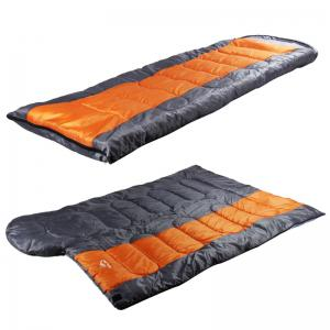 FERISH Outdoor Autumn and Winter Envelope Thermal Insulation Sleeping Bag Adult can be Stitched Sleeping Bag -