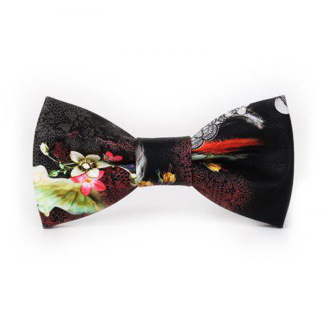 Fashion PU Leather Bow Tie for Men
