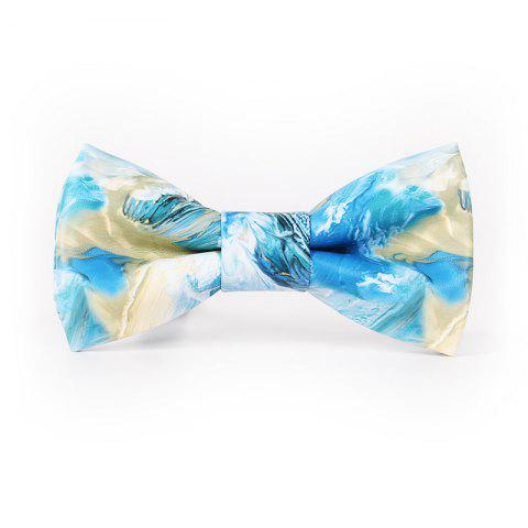 Chic PU Leather Bow Tie for Men