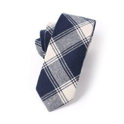 Casual Men'S Lattice Jacquard Tie -