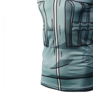 Fashion Casual Creative 3D Digital Print Vest Hot Style -