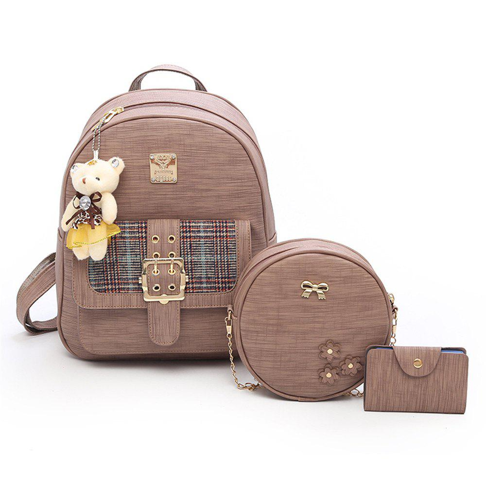 f1f4c8d3a53e Shops Backpack Women Fashion Trendy Bag of Fresh College Students Small  Fresh Small Backpack