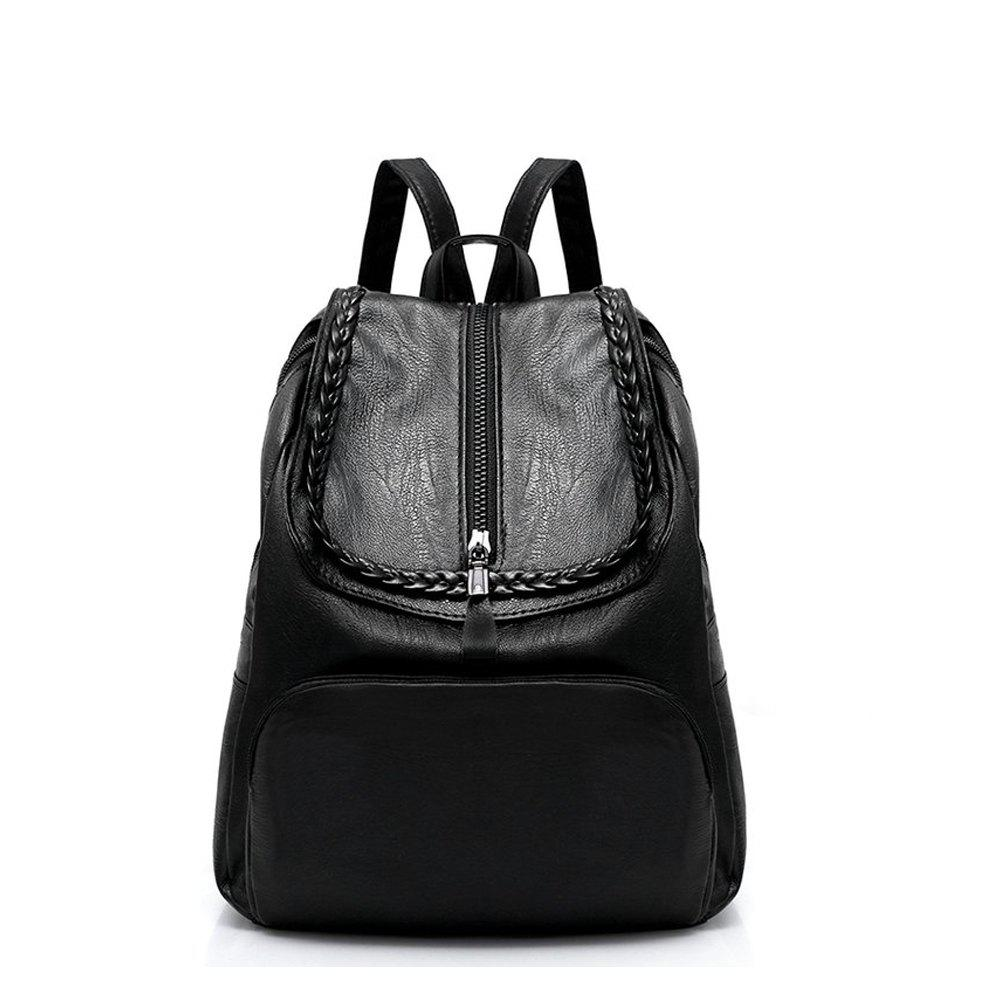 3687927a769b Women Backpacks Fashion PU Leather Shoulder Bag backpack School Bags for  Teenager Girl Bag