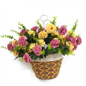 Bouquet de fleurs artificielles Multi Purposes décoratif Phoenixian Ball Flower -