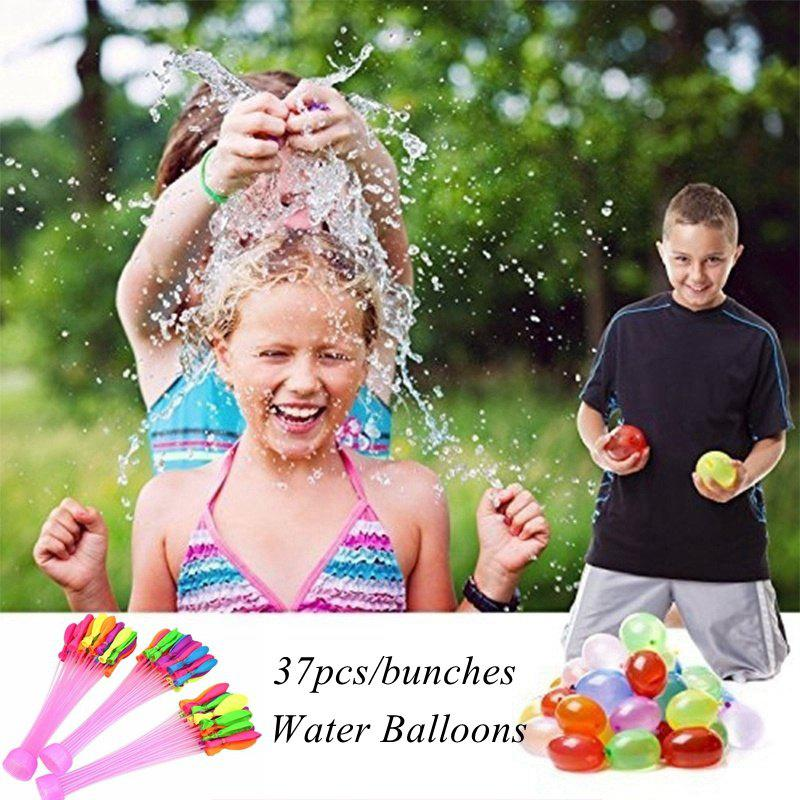 Online 37Pcs Summer Quick Ammo Magic Water Balloons Bombs Toys Kids for Garden Game Party Supplies
