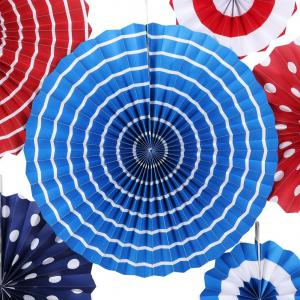 Hanging Paper Fan Decoration Wedding Birthday Christmas Decor Party Events Decor Home Decor Supplies Flavor -