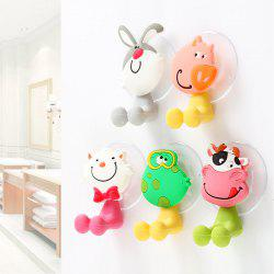 5 Pcs Toothbrush Holders for Toothbrushes Toothpaste Dispenser Bathroom Accessories Tooth Brush Holder Wall Suction Cups -